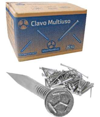 ID CLAVO 1/2x18 C/C (15X1.25) 10KG.