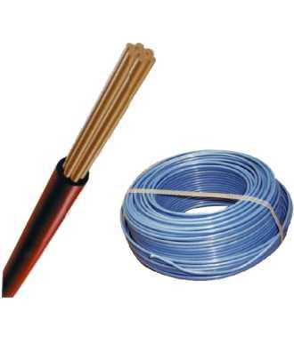CABLE CABLEC CABLEADO THHN 7 HILOS 14 AWG BLANCO.