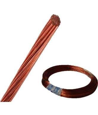 CABLE CABLEC DE COBRE 1/0 AWG 19H AD10.